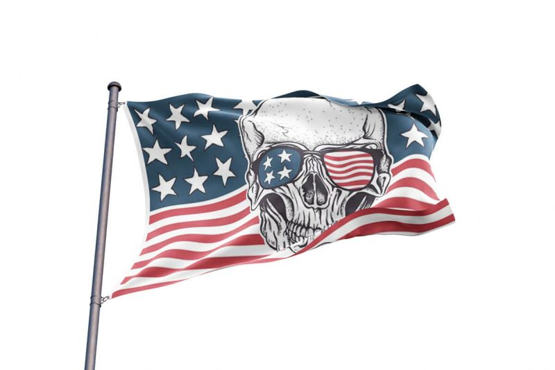 American Flag Pirate - Sons of Pirate