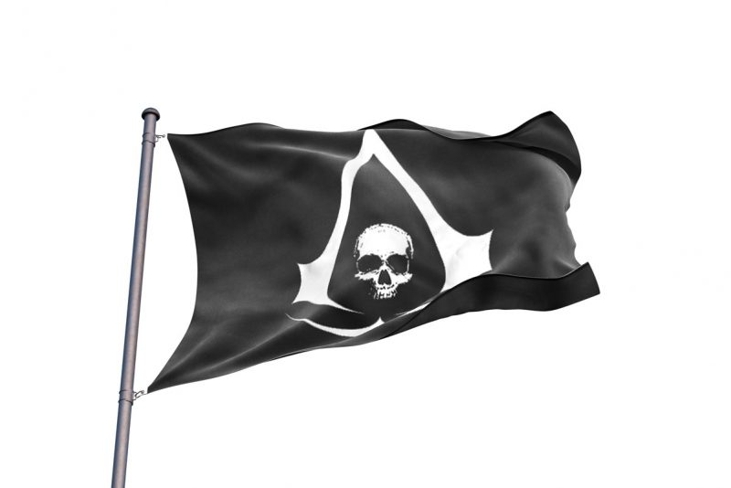 Assassin's Creed Black Flag Flag Pirate - Pirate Flag - Sons of Pirate
