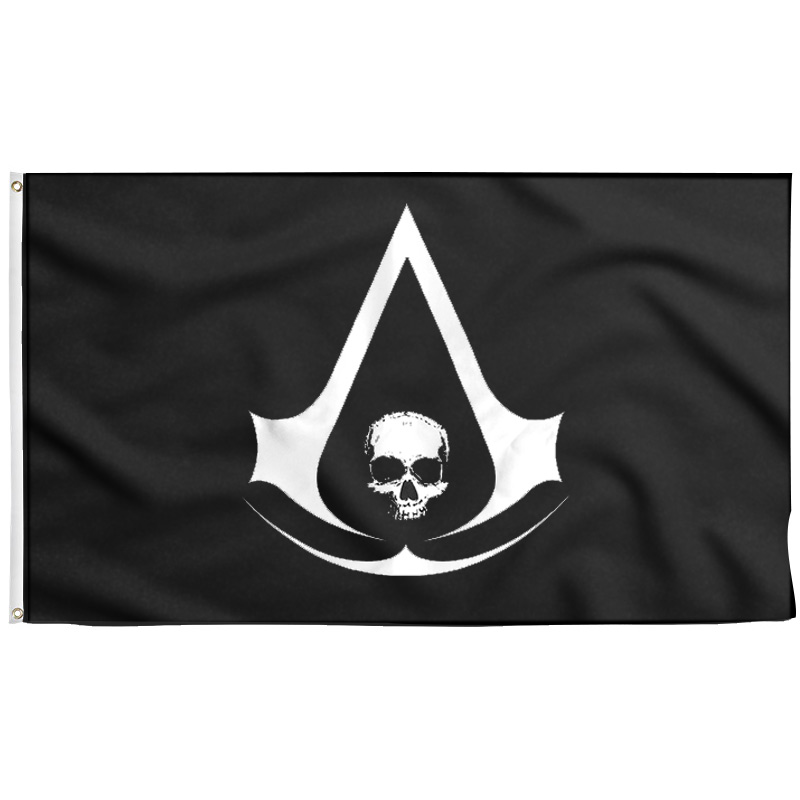 Assassin's Creed IV Black Flag Pirate - Pirate Flag - Sons of Pirate