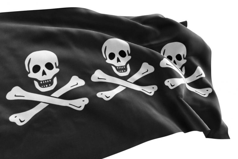 Authentic Jolly Roger Flag - Sons of Pirate