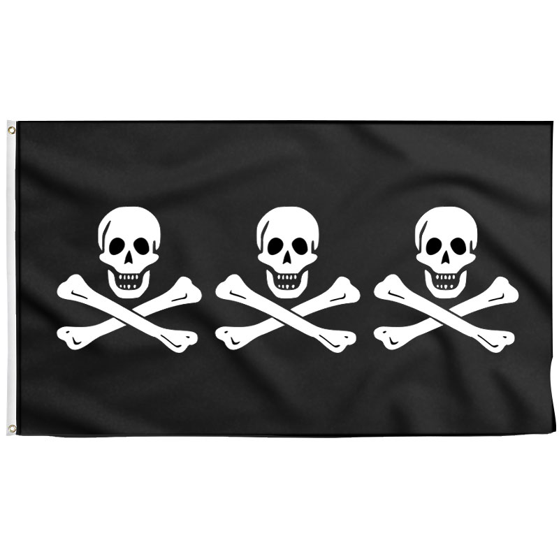 Authentic pirate flag of Christopher Condent - Sons of Pirate