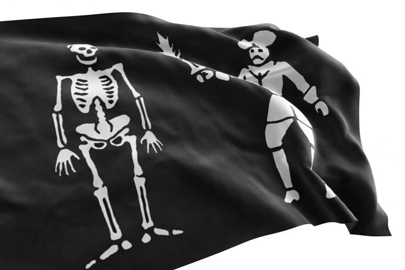 Bart Roberts Pirate Flag History - Sons of Pirate