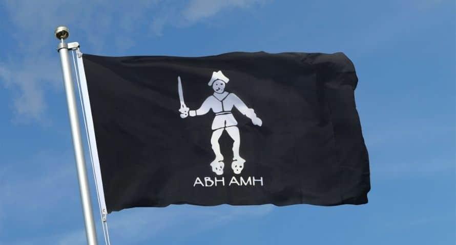 Bartholomew Black Bart Roberts Flag - Sons of Pirate