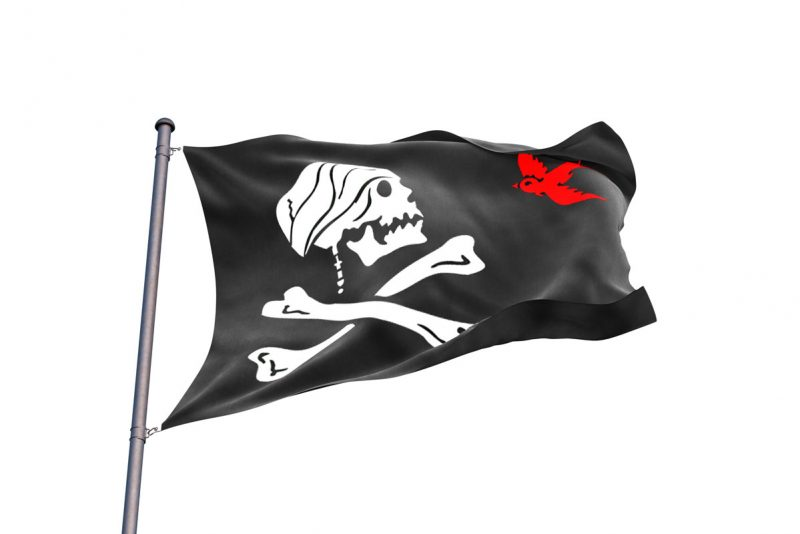 Captain Jack Sparrow Pirate Flag - Sons of Pirate
