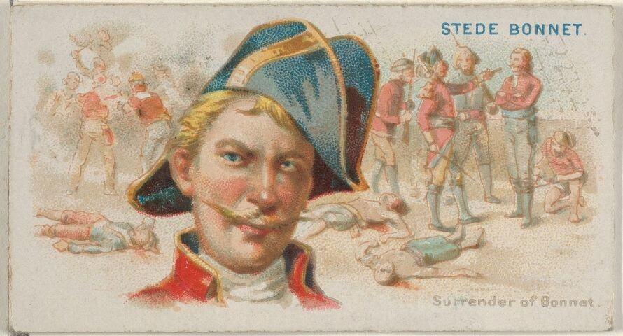 Captain Stede Bonnet Flag - Sons of Pirate