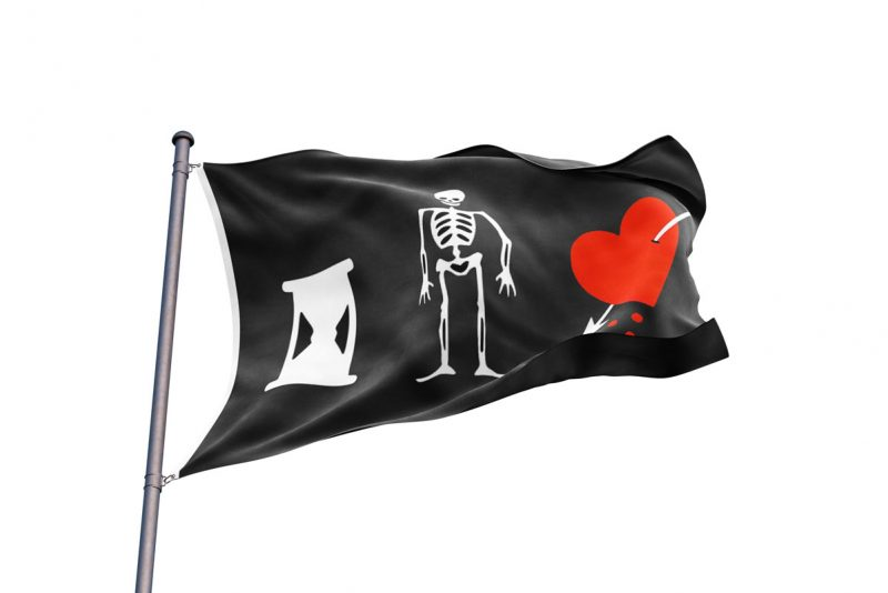 John Phillips Pirate Flag - Sons of Pirate