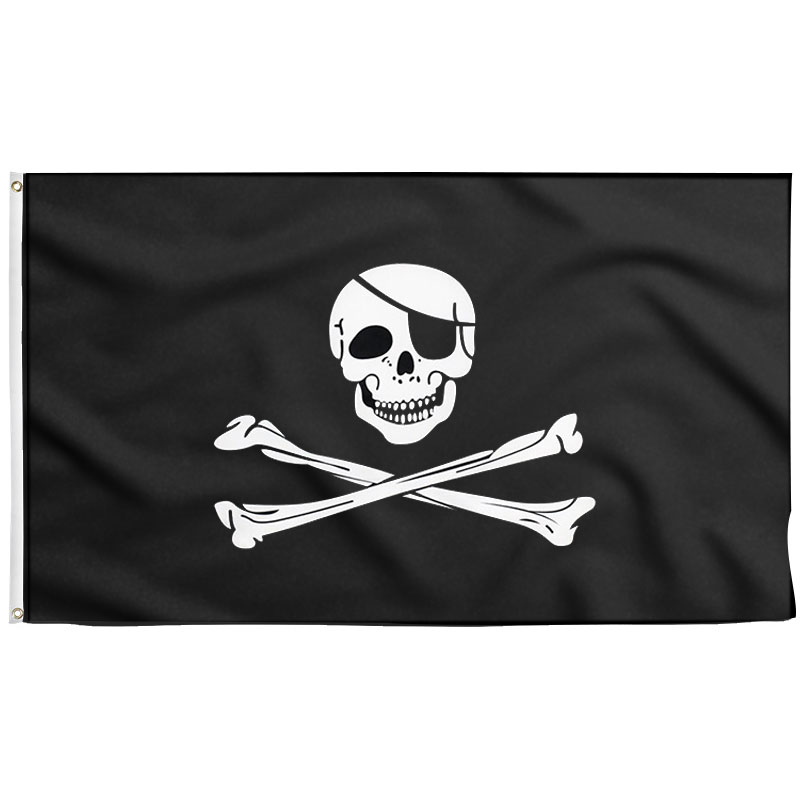 Jolly Roger Pirate Flag - Sons of Pirate