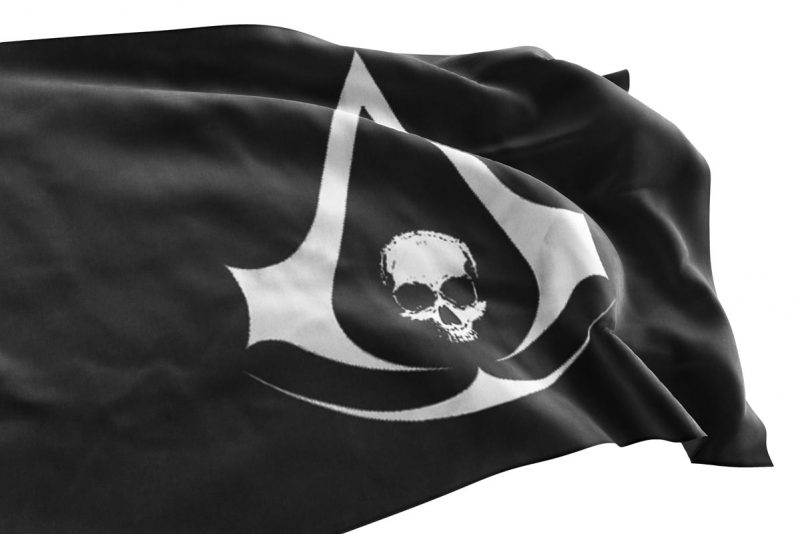 Logo Assassin's Creed Black Flag - Pirate Flag - Sons of Pirate