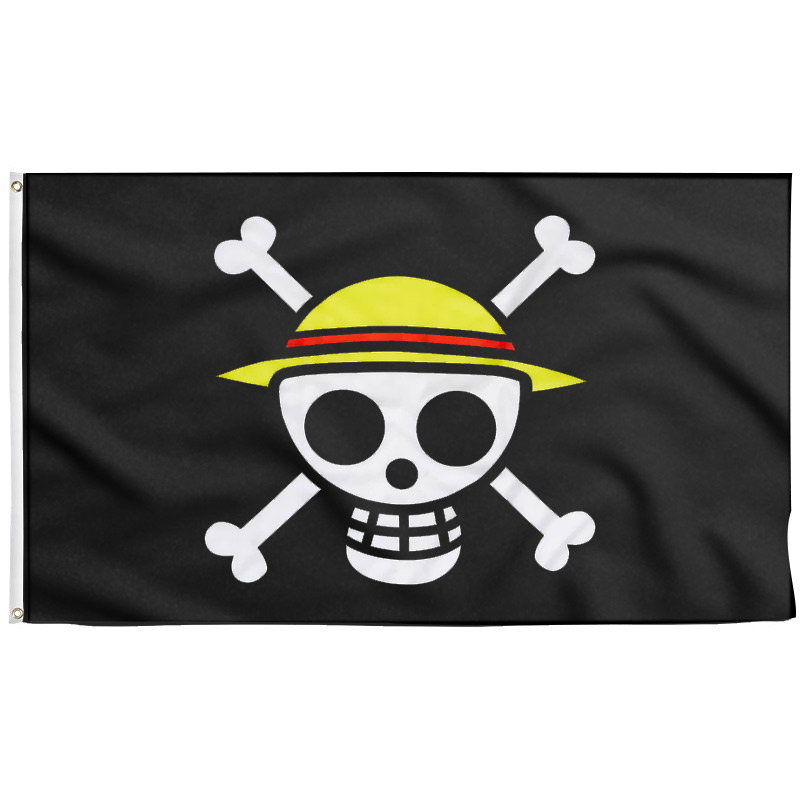 Luffy Pirate Flag - pirate flag - Sons of Pirate