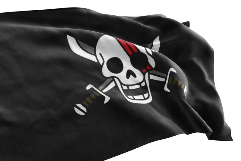 One Piece Red hair Pirates Flag - Sons of Pirate