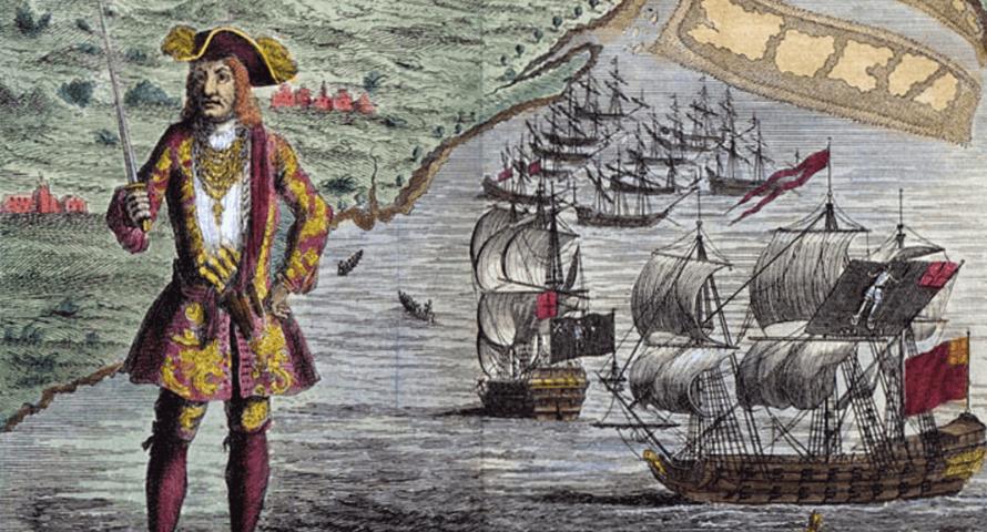 Pirate Bartholomew Roberts - Sons of Pirate