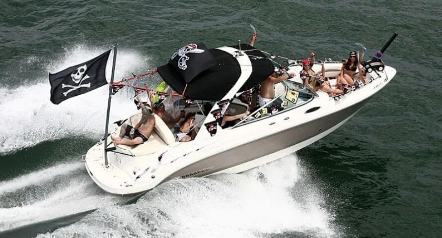 Pirate Flag for boat - Sons of Pirate