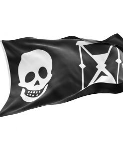 Pirate Flag with Hourglass - Sons of Pirate