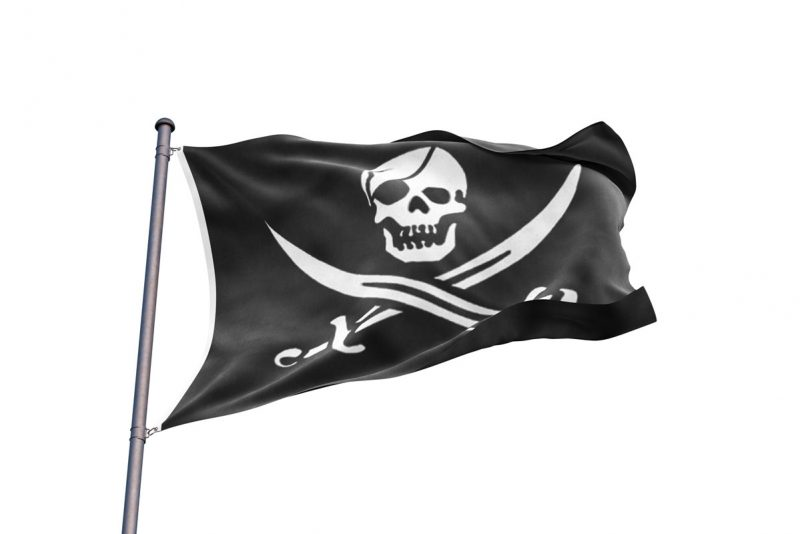 Pirates of the Caribbean Black Pearl Flag - Sons of Pirate