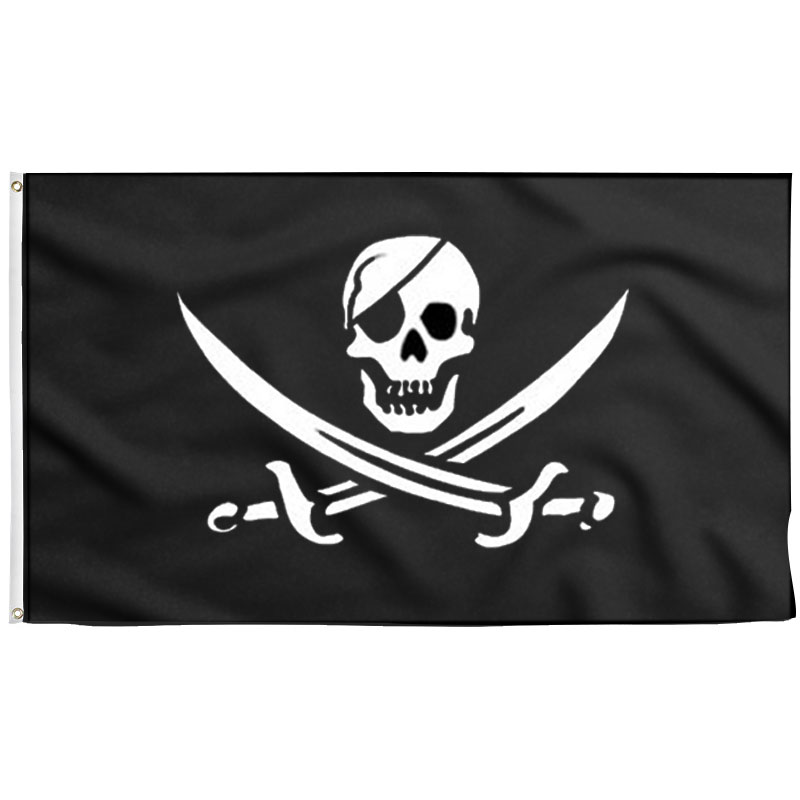 Pirates of the Caribbean Black Pearl Ship Flag - Sons of Pirate