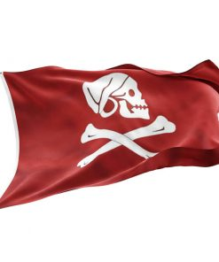 Red Flag Pirate Ship - Sons of Pirate