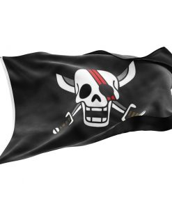 Red Hair Shanks Flag - Sons of Pirate