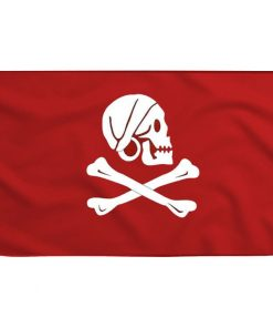 Red Pirate Flag - Sons of Pirate