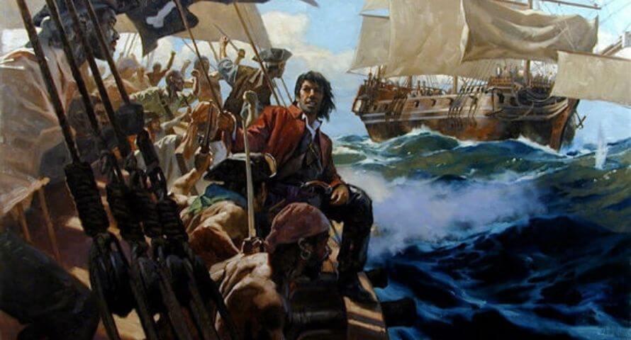 Samuel Black Sam Bellamy - Sons of Pirate