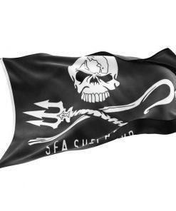 Sea Shepherd Jolly Roger Flag - Sons of Pirate