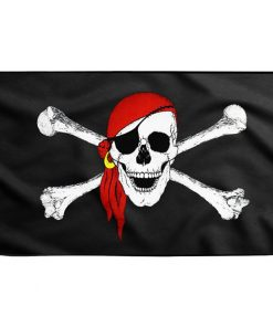 Skull and Crossbones Pirate Flag - Sons of Pirate