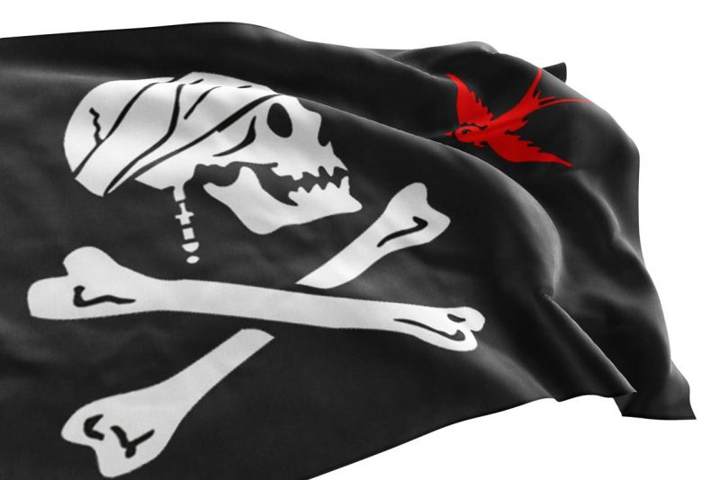 Sparrow Pirate Flag - Sons of Pirate