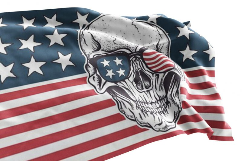 USA Pirate Flag - Sons of Pirate