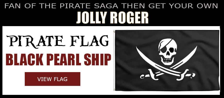 Black Pearl Jolly Roger