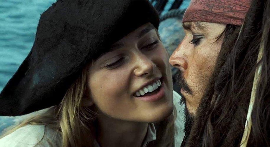 Does Elizabeth Swann like Jack Sparrow