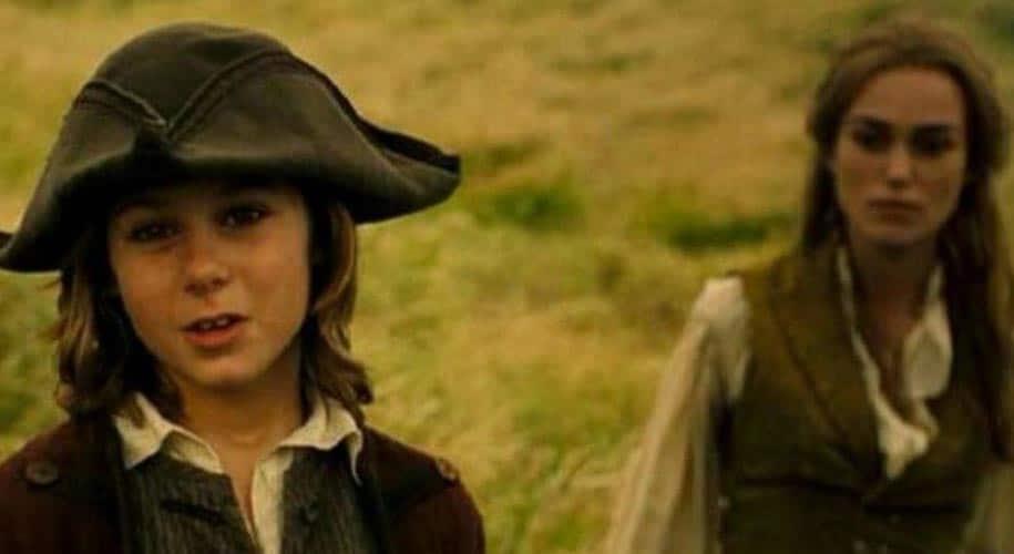 Elizabeth Swann and Will Turner son
