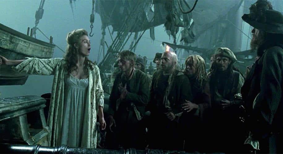 Elizabeth Swann Curse of the Black Pearl