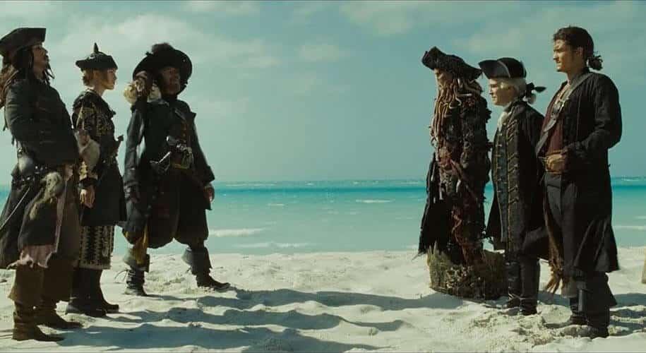 Elizabeth Swann Pirates of the Caribbean 3