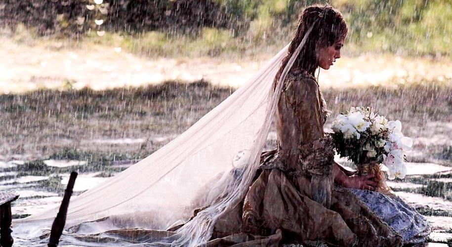 Elizabeth Swann wedding dress