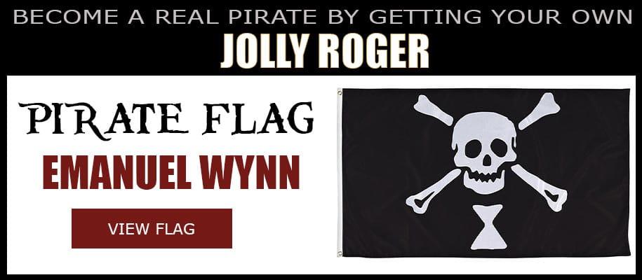 Emanuel Wynne Pirate Flag