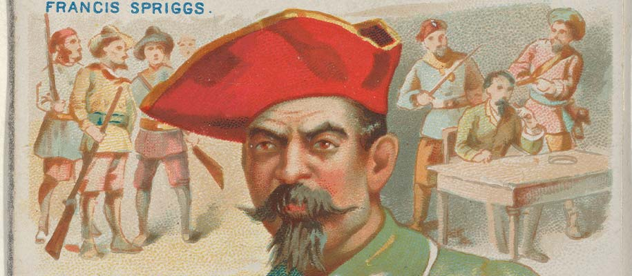 Francis Spriggs Pirate