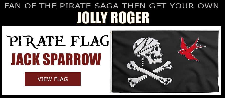 Jolly Roger Jack Sparrow