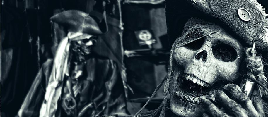 Pirate Skull and Bones