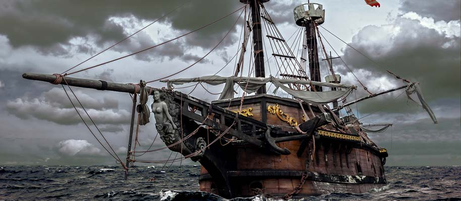 Real Pirate Ship