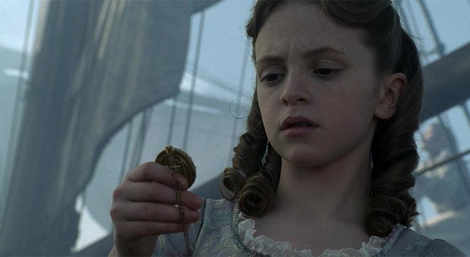 Who plays young Elizabeth Swann ?