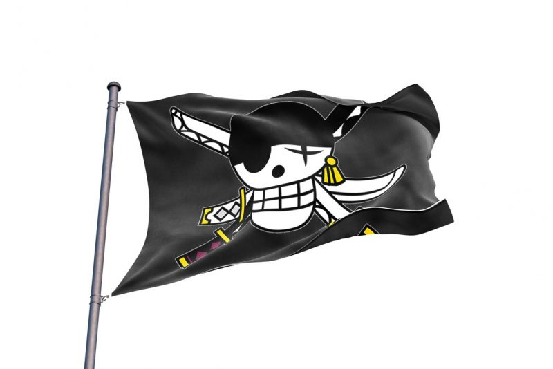 Zoro Flag - Pirate Flag - Sons of Pirate