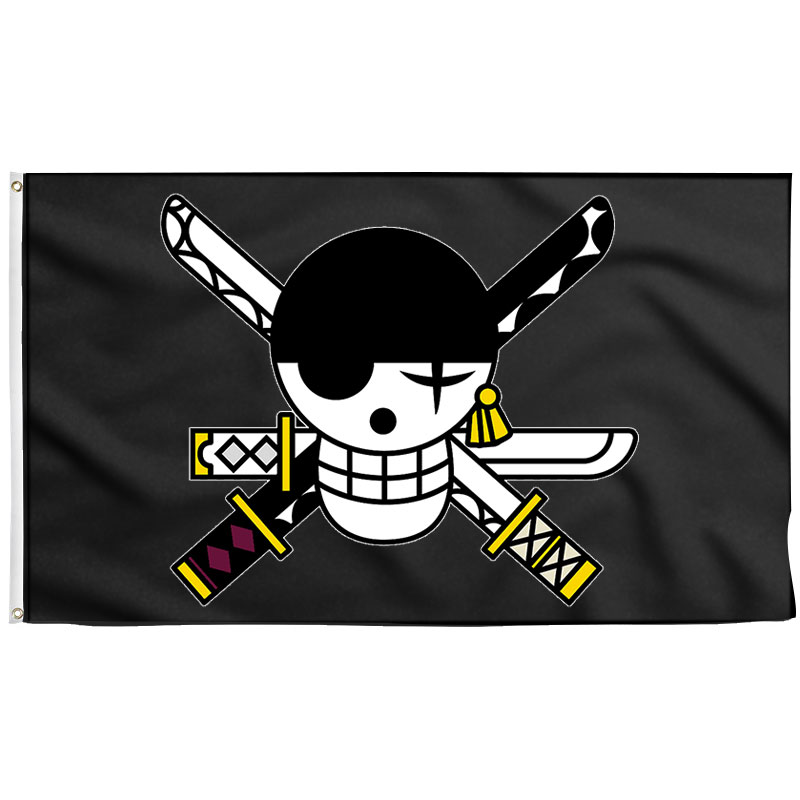 Zoro Pirate Flag - Pirate Flag - Sons of Pirate