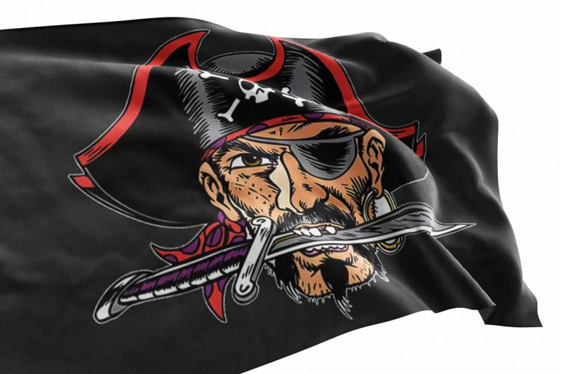 Rebel Pirate Flag - Pirate Flag - Sons of Pirate