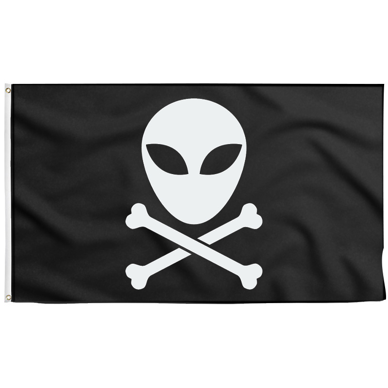 Alien Pirate Flag - Pirate Flag - Sons of Pirate