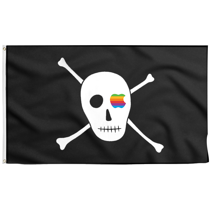 Apple Pirate Flag - Pirate Flag - Sons of Pirate