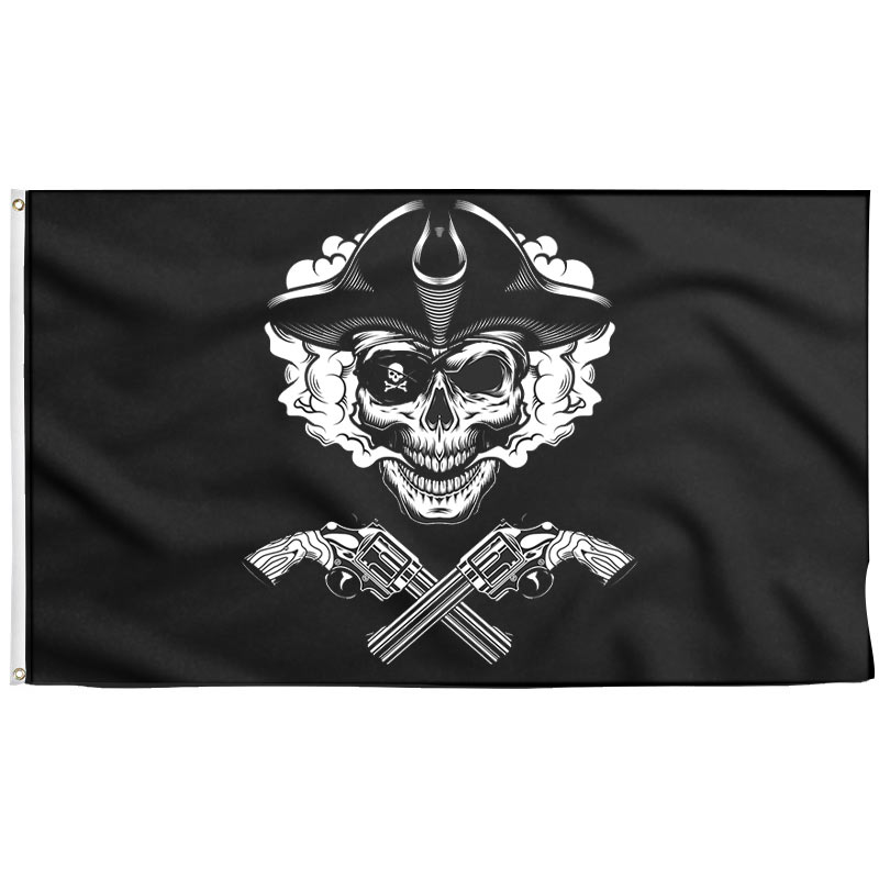 Badass Pirate Flag - Pirate Flag - Sons of Pirate