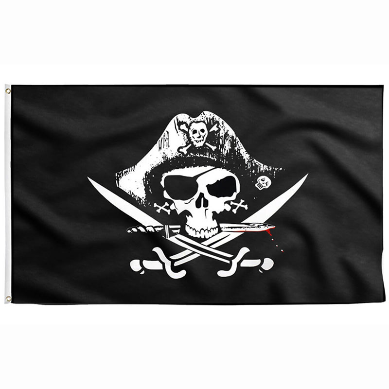 Barbary Pirate Flag - Pirate Flag - Sons of Pirate