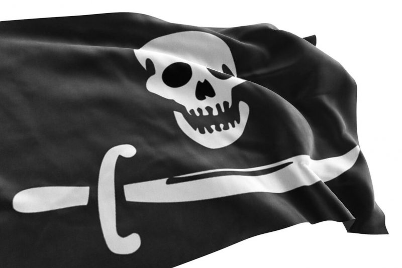 Black and White Pirate Flag - Pirate Flag - Sons of Pirate