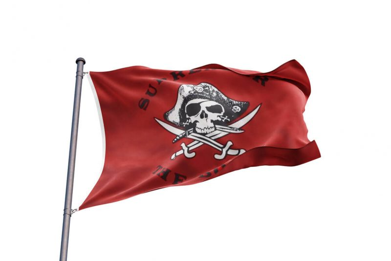 Booty Pirate Flag - Pirate Flag - Sons of Pirate