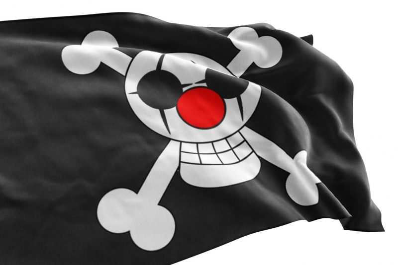 Buggy the clown Jolly Roger - Pirate Flag - Sons of Pirate