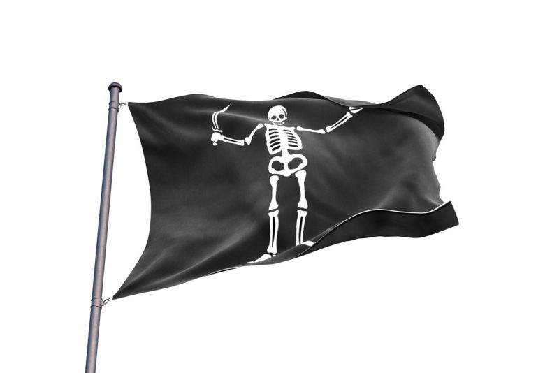 Captain Flint Pirate Flag - Pirate Flag - Sons of Pirate